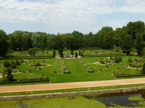 Château de Cormatin: Les jardins