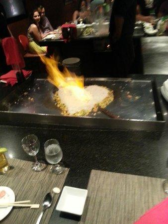 Ocean Coral & Turquesa: Dinning at Sensai Japanese Restaurant