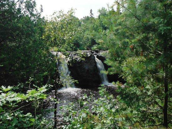 Pattison State Park: Little Manitou Falls
