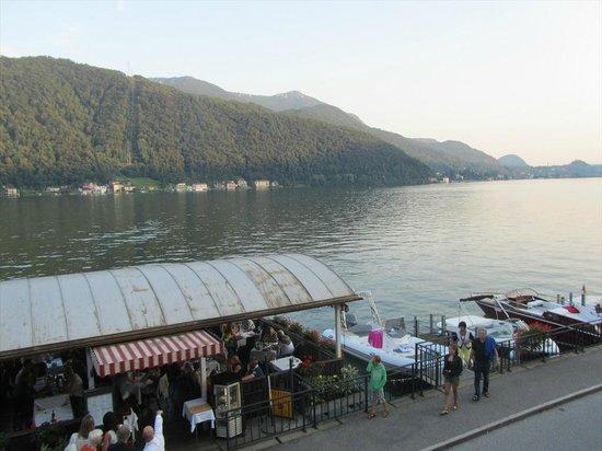 Ristorante Della Posta: Paesaggio dalla terrazza del ristorante