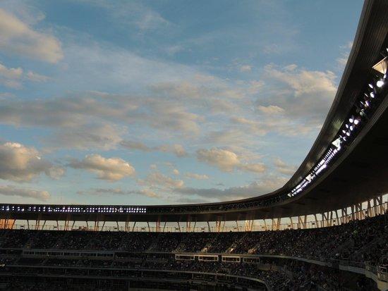 Target Field: Skyline View