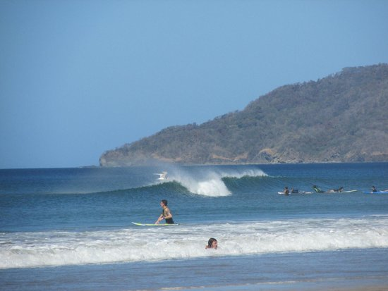 Tamarindo Beach : surf na boca do rio