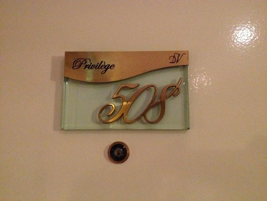 Duminy Vendome : Room number