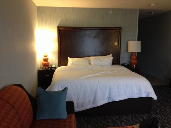 Hampton Inn Corning/Painted Post: King bed