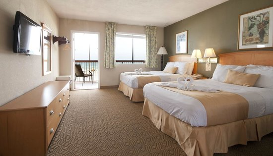 Roomba Inn & Suites: Newly Renovated Ocean Front Guest Room