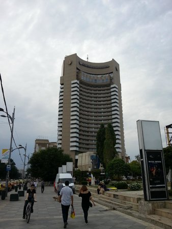 InterContinental Bucharest: a picture from the street