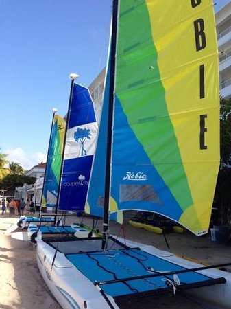 Couples Tower Isle: Hobie cats
