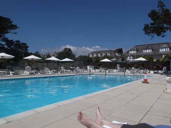 The Carlyon Bay: Outdoor Swimming Pool