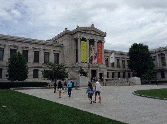 Museo de Bellas Artes: ボストン美術館入口