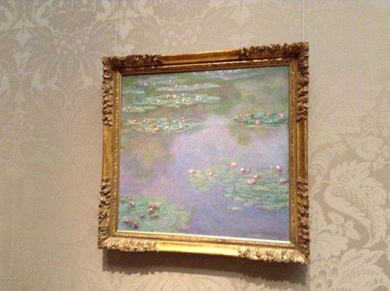 Museo de Bellas Artes: モネ「睡蓮」