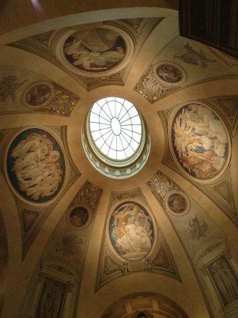 Museo de Bellas Artes: ボストン美術館の天井
