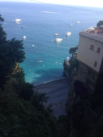 B&B Casa Fortunata : view from balcony