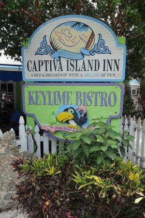 Keylime Bistro signage