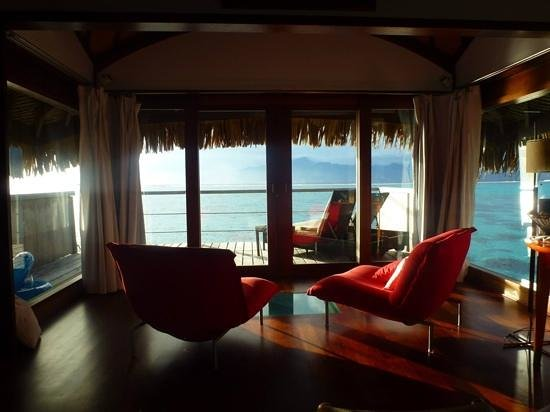 Sofitel Moorea Ia Ora Beach Resort : Views all day