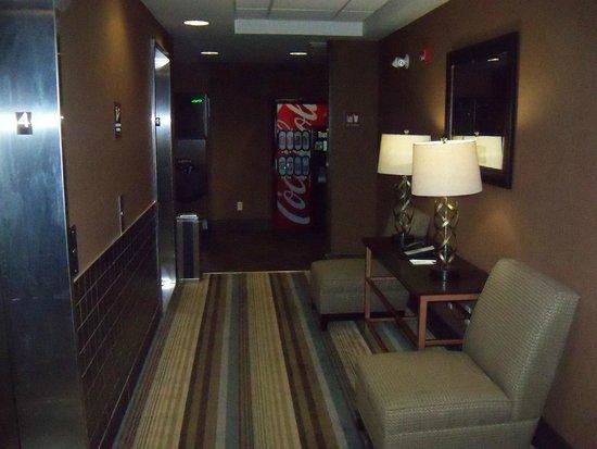 Best Western Premier Freeport Inn & Suites : Elevator Hallway