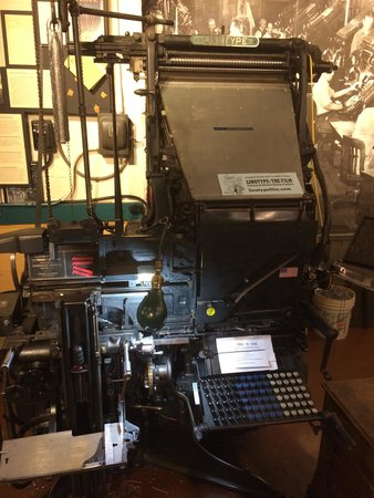 Baltimore Museum of Industry: Printing Press