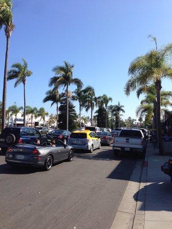 Coronado Island: Orange Ave. ( by mistake written Grove Ave.)