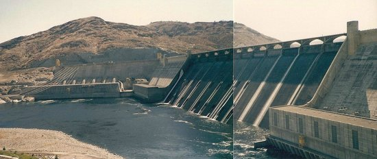 Grand Coulee Dam - 2 shot paste