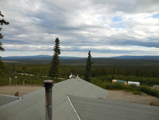 Alpine Creek Lodge: You can see for miles!