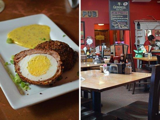 Finn's Irish Pub: Scotch egg