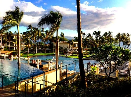 Andaz Maui At Wailea : Room view from my Lanai
