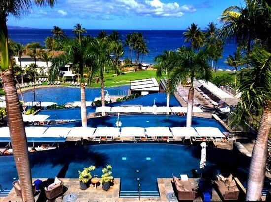 Andaz Maui At Wailea : View from Hotel lobby