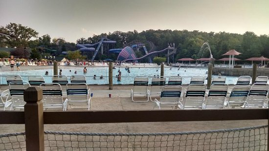 Holiday World & Splashin' Safari : View from Cabana 29