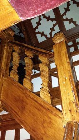 Wild Boar Hotel: Stairway to heaven!