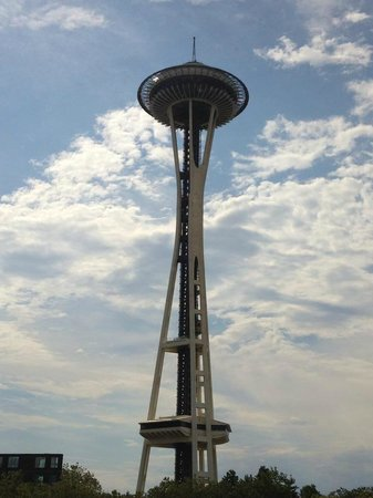 Best Western Executive Inn : Space Needle desde el 3er. piso