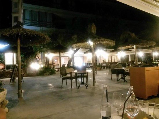 Restaurante Las Olas: la terraza