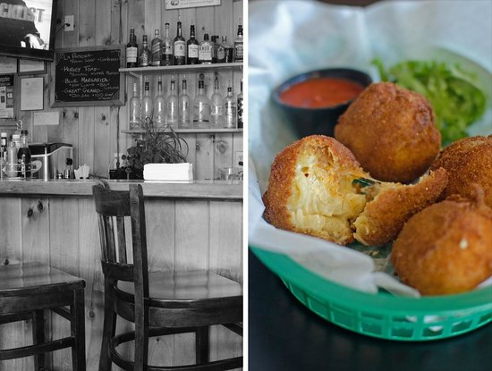 Black Mtn. Burger Co.: Fried mac n' cheese balls