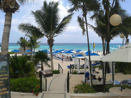The Reef Playacar: Hermosa playa