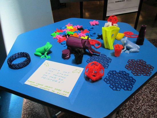 The Tech Museum of Innovation : 3D printer toys