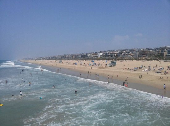 Manhattan Beach Pier: View from pier