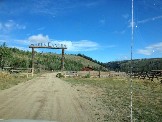 Entrance to Aspen Canyon Ranch