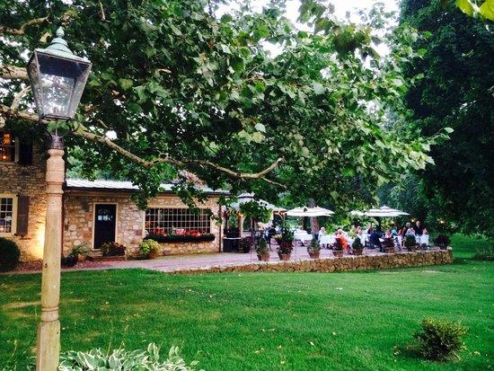 Bridgetown Mill House Restaurant: Nice patio