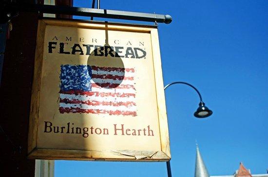 American Flatbread : signage