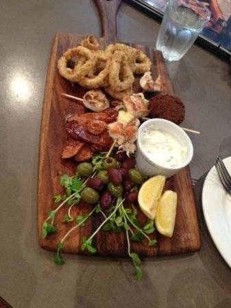The Coffee Club: Share platter for two