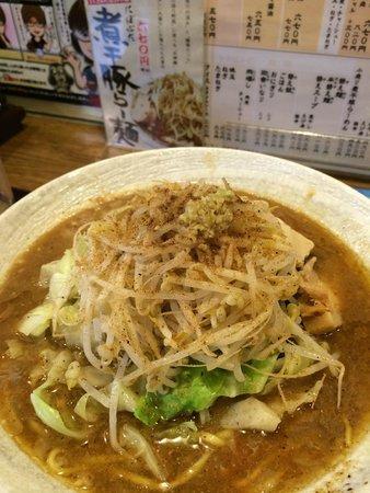Maruki Tsukemen : 煮干豚らーめん(太麺:並) 670円