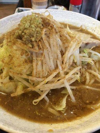 Maruki Tsukemen : 煮干豚らーめん(平打ち麺:並)670円