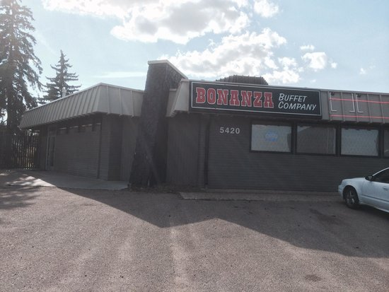 South Bonanza Buffet Company : Don't judge a book by its cover!  Set far back in the parking lot it is easily missed. When yo