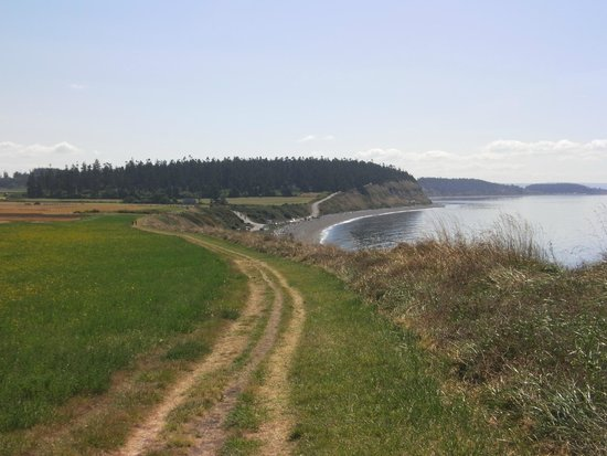 Ebey's Landing National Historical Reserve: Another View of Field as You Walk Along Trail