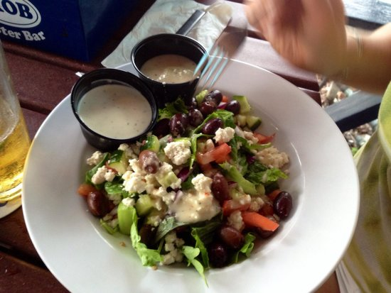The Siesta Key Oyster Bar: Mediterranean Salad at SKOB.