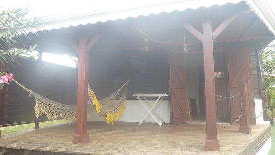 Habitation Bioche: Le Deck