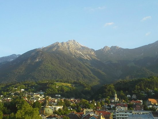 Basic Hotel Innsbruck: View from balcony