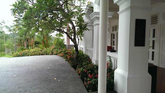 Capella Singapore: Surroundings of hotel