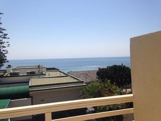 Seaside Laguna Inn & Suites: view from our room