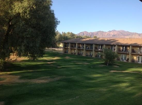 Furnace Creek Inn and Ranch Resort: vue de notre chambre