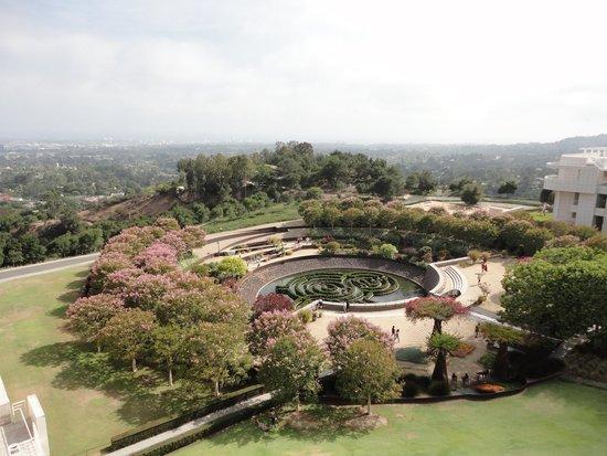 Centro Getty: The central garden