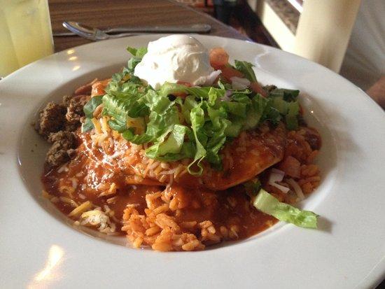 Hilton Garden Inn Albuquerque Airport: Real enchiladas